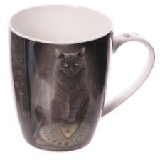 Lisa Parker His Masters Voice Cat Bone China Mug.