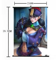 "Hot Japan Anime Overwatch Mei Art Home Decor Poster Wall Scroll 8""x12"" FL873"