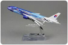 Malaysia Freedom of Space BOEING 777-200 Passenger Airplane Metal Diecast Model