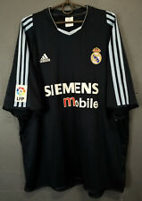 ADIDAS FC REAL MADRID 2003/2004 SOCCER FOOTBALL SHIRT JERSEY CAMISETA SIZE 2XL
