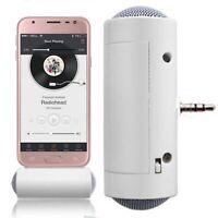 3.5mm Mini Inalámbrico Altavoz Amplificador Estéreo para Móvil Teléfono Ipod MP3