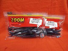 """ZOOM 7"""" Magnum Super Fluke (5 Cnt) #112-292 Blue Fleck (2 Packs)"""