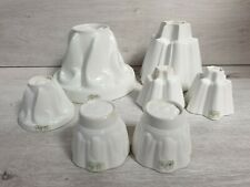 SHELLEY Antique Collection Of Large & Single Serve Jelly Moulds