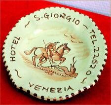 Cendrier - Coupelle à monnaie en faïence de Mursano - Hôtel S.Giogio à Venise