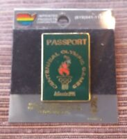 1996 USA Atlanta Passport 100 Centennial Olympic Games Collection Authen Pin