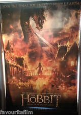 Cinema Banner: HOBBIT BATTLE OF THE FIVE ARMIES 2014 Smaug Benedict Cumberbatch