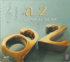 C.D.MUSIC D597   A to Z  OF CLASSICAL MUSIC   4 DISC SET  CD