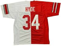 Carlos Hyde autographed signed jersey NCAA Ohio State Buckeyes PSA COA