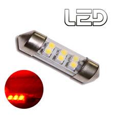 1 Bombilla Lanzadera C5W 36 mm 36mm 6 LED SMD ROJO Iluminación Cabina Luz techo