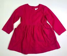 Hanna Andersson Girls Pink Tunic Corduroy Dress 120 6 7