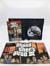 Grand Theft Auto III (GTA 3) Sony PlayStation 2 (PS2) Video Game COMPLETE black