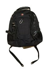Swiss Gear Travel Bag Laptop Backpack Computer Notebook School Bag Black