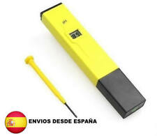 Medidor digital PH para acuario piscina medicion color amarillo