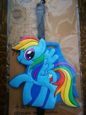 Rainbow Dash My Little Pony Silicone Luggage Tag