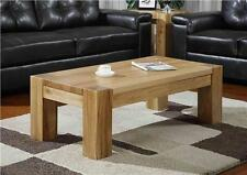 Oak 60cm-80cm Height Coffee Tables