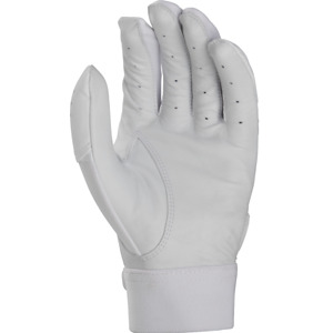 Rawlings 5150 Opening Day Adult Baseball Batting Gloves Pair WHITE MD