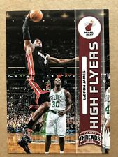 2012-13 Panini Threads High Flyers #2 LeBron James Basketball Card