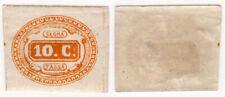 Italy Regno 1863 SEGNATASSE Postage Due 10c MH Sassone Cat. 1 ORIGINAL GUM