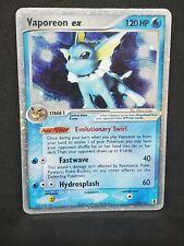 Pokemon Vaporeon Ex 110 Rare Ex Delta Species Holo MP