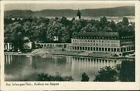 Ansichtskarte Bad salzungen Kurhaus am Burgsee  (Nr.9607)