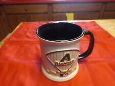 Arizona Diamondbacks lot - Lg Cofee Mug, Souvenier Size Batt and Reg. size Ball