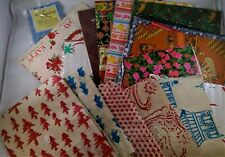 vintage wrapping paper 18 designs all occasions Mickey tissue paper gift bags