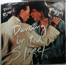 Rock Picture Sleeve 45 Mich Jagger/David Bowie - Dancing In The Street / dancing