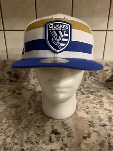 San Jose Earthquakes MLS New Era 59FIFTY Fitted Cap - Size 7 3/8