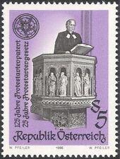 Austria 1986 Religión/protestantes acto/ley/ministro/púlpito/personas 1 V (n44351)