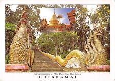 BT2043 A naga stair case to wat Phra thad doi suthep Chiangmai    Thailand