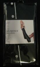 Leg Avenue Black and White Arm Warmers Fingerless Tuxedo Gloves