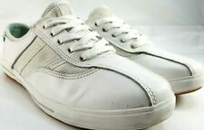 Keds Women Tennis Shoes Size 9.5 Euro 40.5 White Leather Style WH46200Mf13CH27