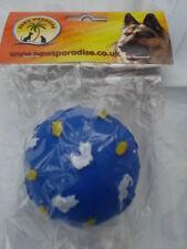 Plutos Pets + Paws Paradise  No1 Pet Toy Wholesaler - BLUE BALL WITH CATS