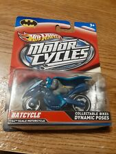 New Listing2012 Hot Wheels Motorcycles Batcycle Collectible Bikes Dynamic Poses