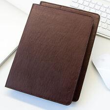 Premium Leder Cover Samsung Tab S2 Schutzhülle Case Tasche Tablet Galaxy braun