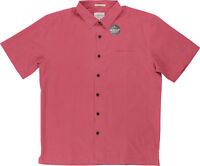 Quiksilver Mens Waterman Collection Cane Island SS Shirt - Cardinal Red