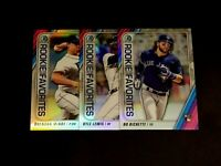 2020 Bowman Chrome Rookie Of The Year Favorites RC Refractors Free Combined S/H