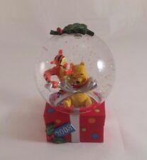 Winnie The Pooh Disney Store Exclusive Snow Globe Christmas 2008 Tigger