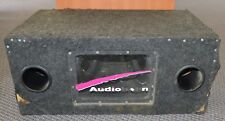 """*Audiobahn 2 x 10"""" AW1000Q 600w Car Subwoofer w/ Box NJ Local Pick Up Only"""