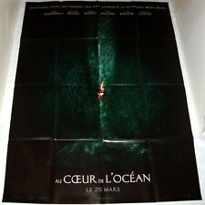 iN THE HEART OF THE OCEAN Ron Howard Whale Moby Dick LARGE French POSTER teaser