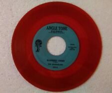 """The Chandeliers 45 rpm """"Blueberry Sweet"""" ANGLE TONE 521 on RED-WAX"""