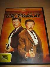 Secondhand Gunfight at the O.K. Corral Burt Lancaster DVD Very good #D