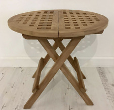 folding round side end tables for sale ebay rh ebay co uk