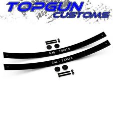 """1977-2004 Ford F250 Super Duty Add-a-Leaf Spring 2WD 4WD 2"""" Front Leveling Kit"""
