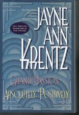 Grand Passion & Absolutely, Positively by Jayne Ann Krentz, Large Paperback