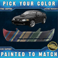 New Painted to Match - Front Bumper Cover Fascia for 1999-2004 Ford Mustang GT
