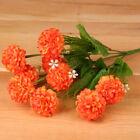 1 Bunch Wedding Artificial Silk Hydrangea Posy Flower Bouquet Home Party Decor