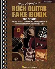 The Greatest Rock Guitar by Hal Leonard Corp. Staff (2000, Paperback)
