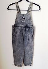 vintage girls overalls san jose sharks NWOT size medium deadstock 90s