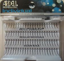 Ardell Duralash REGULAR MEDIUM Individual SINGLE Fake Lashes Black